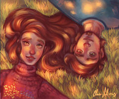 Under the pines by ClaraSaliz