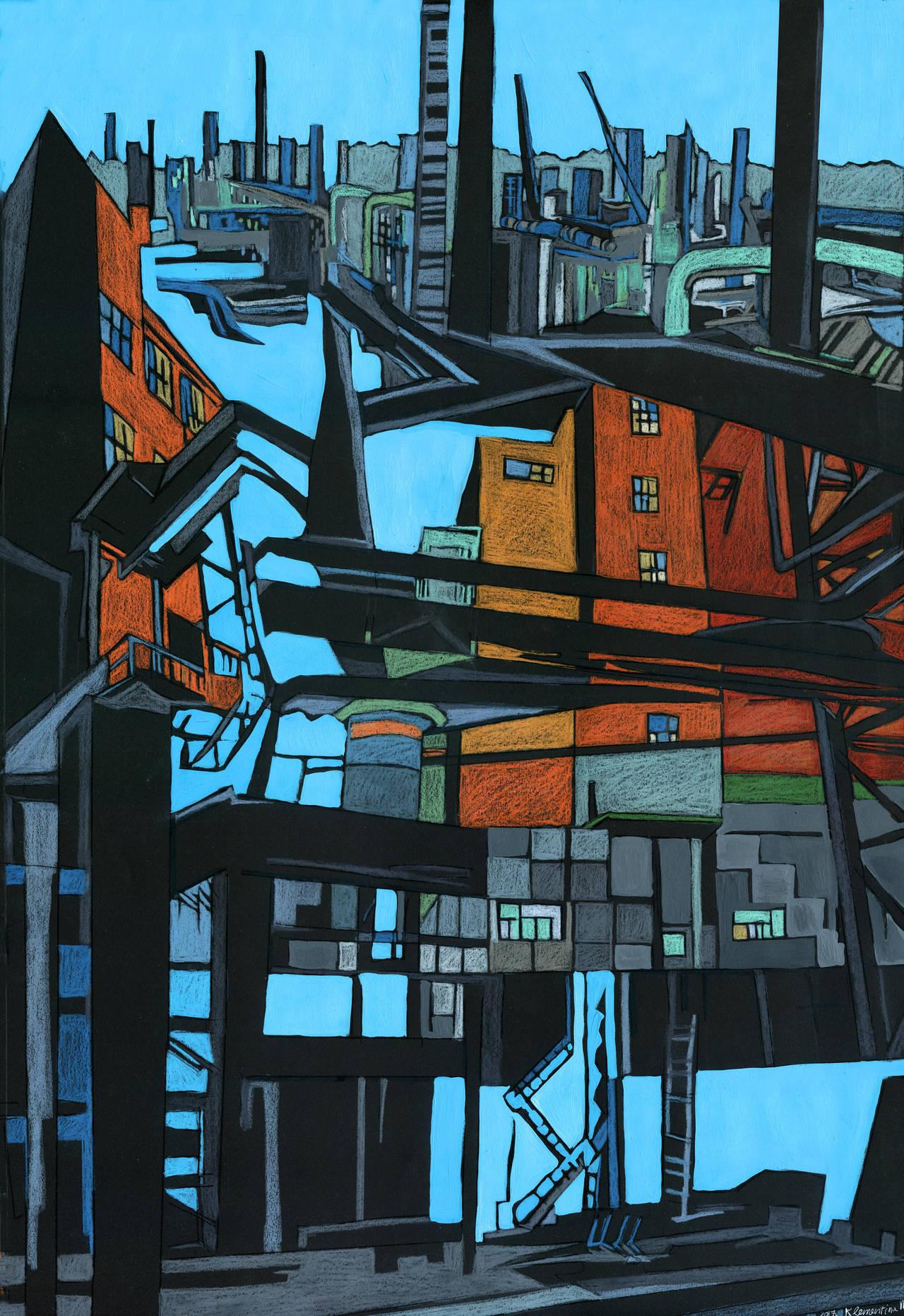Industrial devastation by KlementinaMoonlight