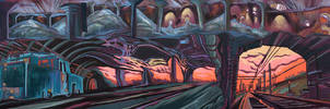 The way to Apocalypse. Underground by KlementinaMoonlight