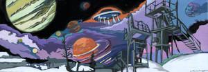 Cosmos. Jupiter. by KlementinaMoonlight