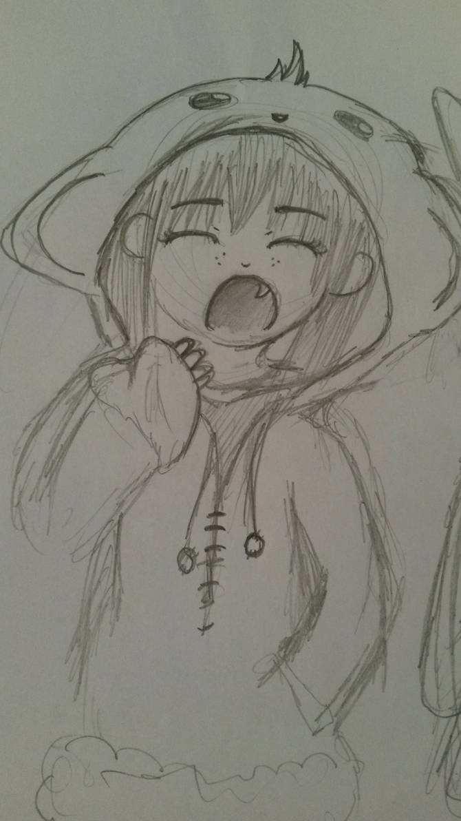 Sleepy Monkey by mwh2000
