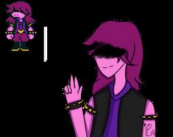 Susie by Deltarune by papyrosaaa