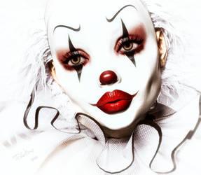 Izzy clown by Feel-ine