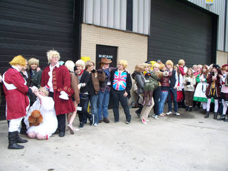 Acen 2012: Hetalia Group: America and England 3 by Lexari