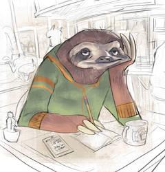 Fast Sloth by Ramonn90
