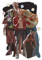 Guardians of the Galaxy by Ramonn90