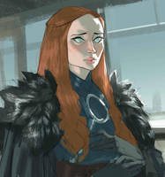Sansa Stark by Ramonn90