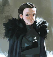 Lyanna Mormont by Ramonn90