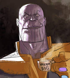 Thanos by Ramonn90