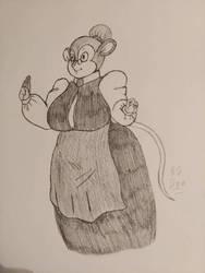 Mrs. Mousekewit  by LoverofArtwork