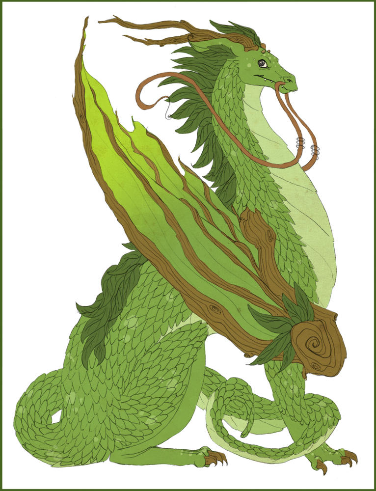 Root Dragon by mily066