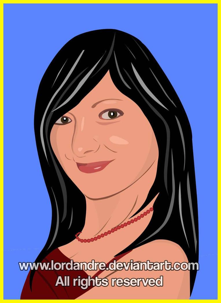 Vector Art Portrait by LoRdaNdRe