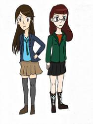 Daria (anime style) by SakuraKirby128
