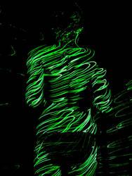 Kisha: Green by GwydionsPen