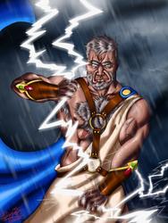 Zeus by artofdeimos