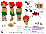 REMAKE of looby's profile and character sheet by Alavist