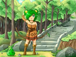 Anna Epic Battle Fantasy FanArt by MeiKitsune4