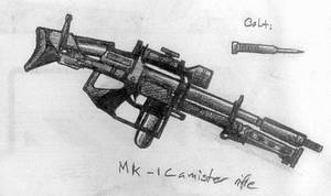 Mk-1 CR Cannister Rifle by Pyrosity