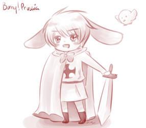Bunny!Prussia by KatuTheKat