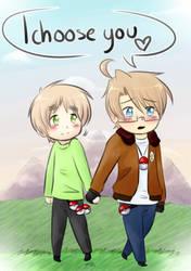 Valentines 2013 (Pokemon!USUK) by KatuTheKat