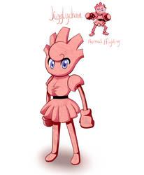Pokemon Fusion: Jigglychan by KatuTheKat