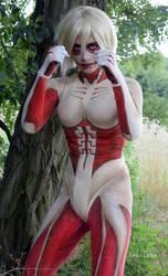 Female Titan Cosplay by SafiraLanox