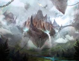 Sky City by Ultragriffy