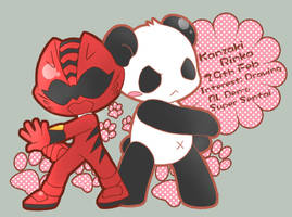 ID - GekiRed with Panda by Kanzaki-Rinka