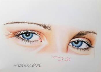 eyes by Sabine-S-Art