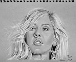 Ellie Goulding by Sabine-S-Art