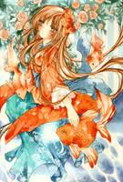 Underwater Princess by Kyatto-san