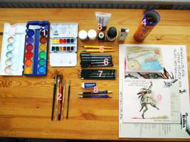 Kyatto's drawing tools by Kyatto-san