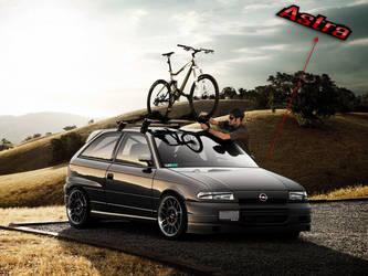 Opel Astra by EvolveKonceptz
