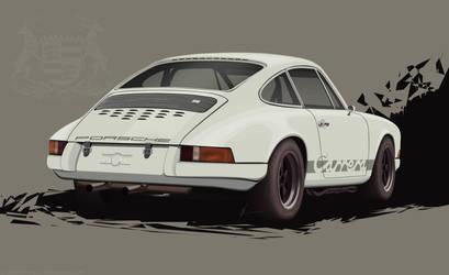 Porsche Carrera 911 50th Anniversary Tribute by EvolveKonceptz