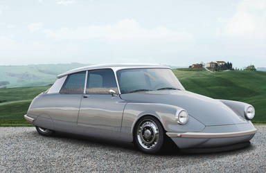 Citroen DS Elysee Coupe by EvolveKonceptz