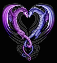 Dragon Hearts by Sheblackdragon