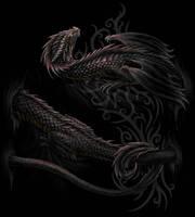 Serpent/ Dragon wrap by Sheblackdragon