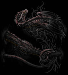 Serpent/ Dragon wrap by Sheblackdragon