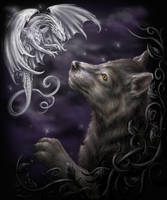 Mystical Encounter by Sheblackdragon
