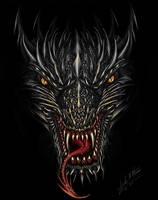 Razor Dragon by Sheblackdragon
