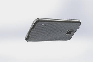 SGS5 3D Modeling - SolidWorks (Side/Bottom) by MrS-Metz