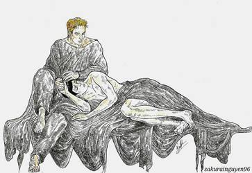 'Taking care of my Vulcan' by sakurainguyen96