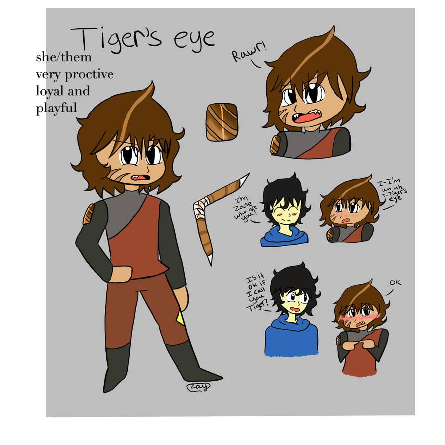 Tigers Eye Gem Oc By Wolfygirl116 On Deviantart