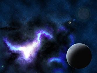 Deep universe by Nialthstrasz