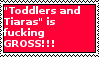 Stamp: Toddlers and Tiaras is fucking GROSS by LittleGreenGamer