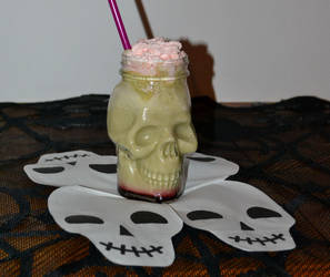 Zombie frappe by IllyDragonfly