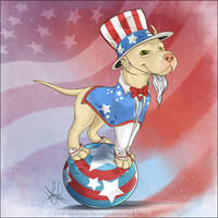 Uncle Sam I Am! by GoPuppy