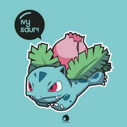 Ivysaur Fan Art by OukokuDesign