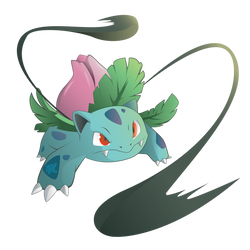 Ivysaur Vine Whip by OukokuDesign