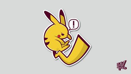 Pikachu Sticker by OukokuDesign